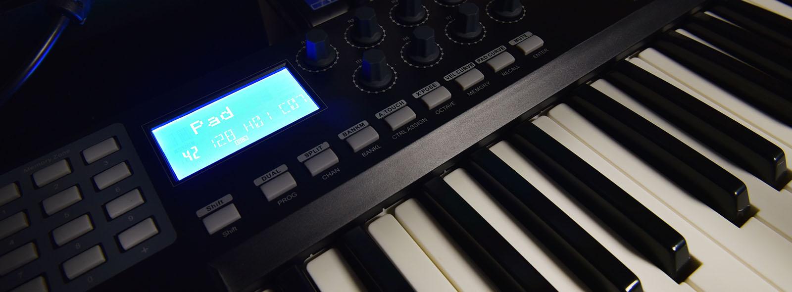DNA Key Pad 49 – klawiatura sterująca MIDI USB