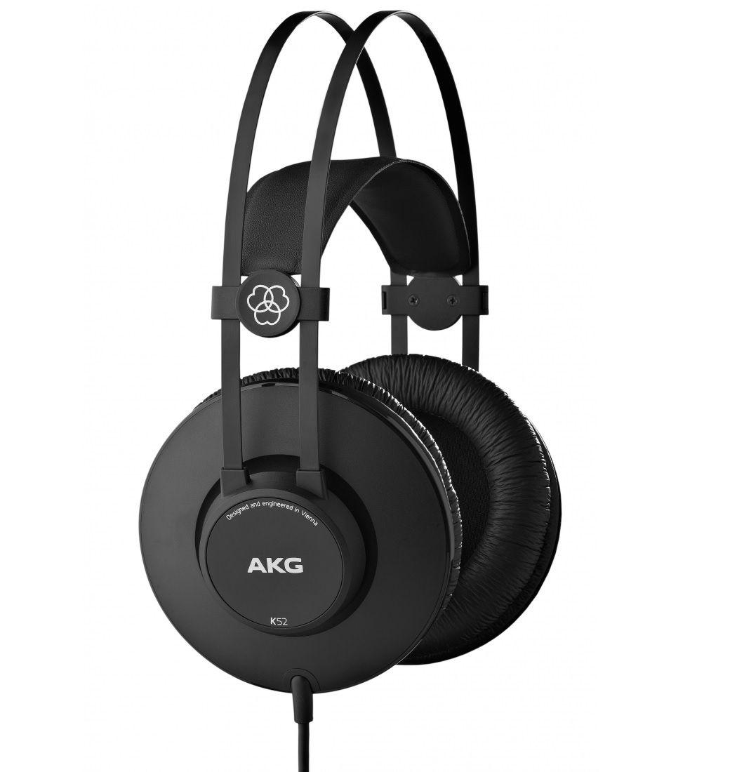 AKG K52 słuchawki studyjne zamknięte wokółuszne