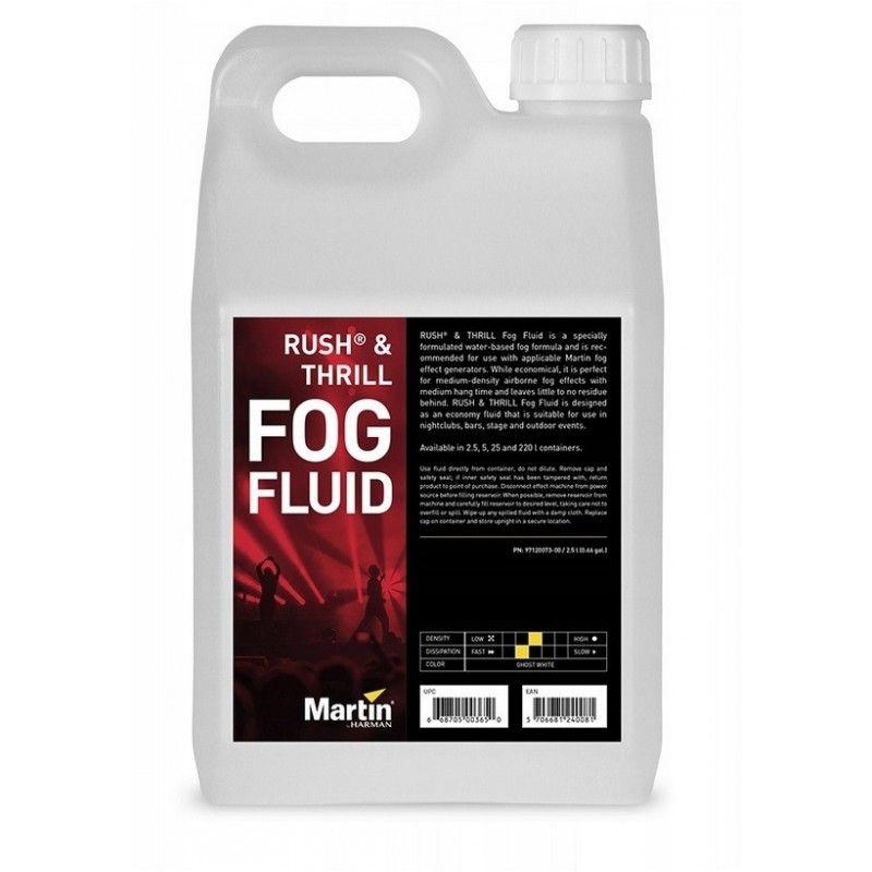 MARTIN RUSH & THRILL FOG FLUID płyn do wytwornicy