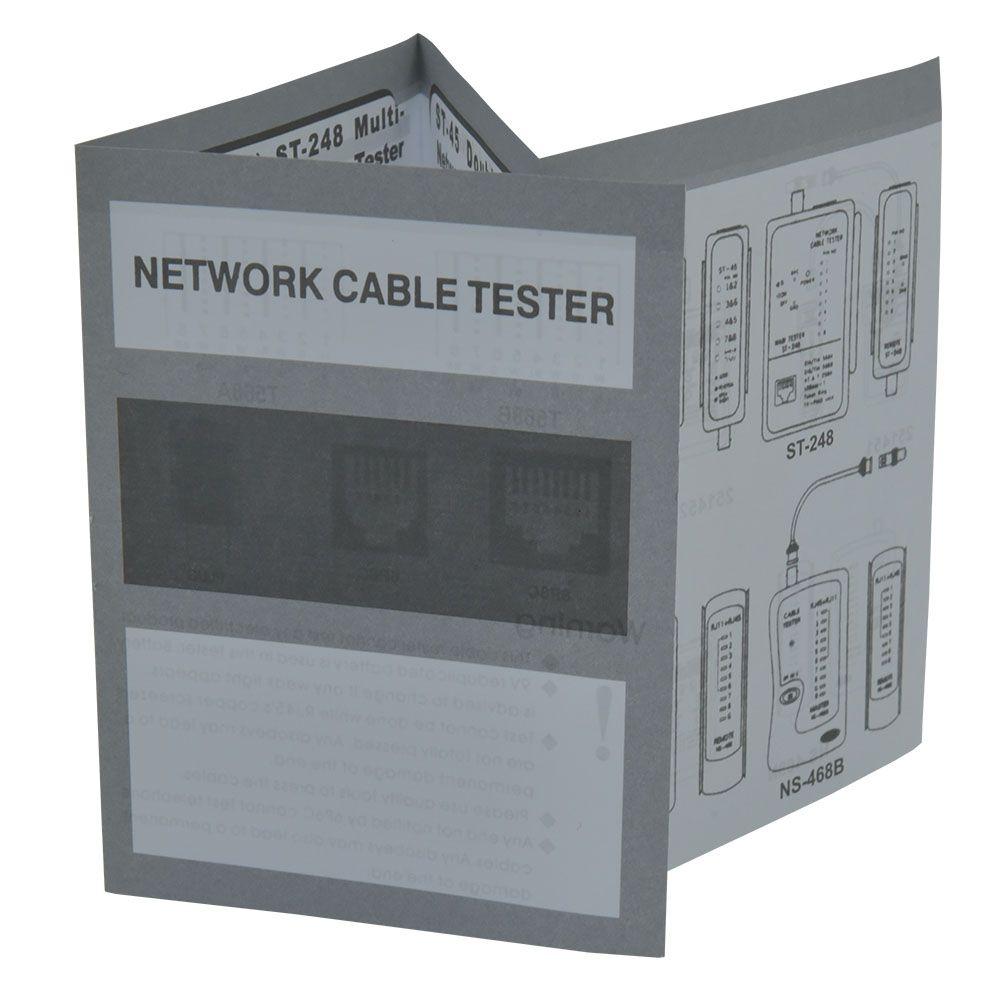 NN AR0811 zestaw do kabli sieciowych tester LAN RJ