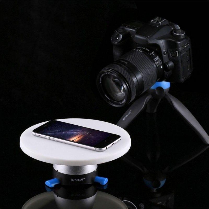 PULUZ PU 364L obrotowa podstawa do zdjęć 360° USB