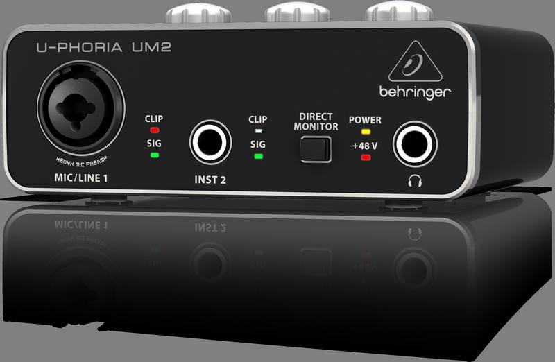 BEHRINGER U-PHORIA UM2 interfejs audio USB