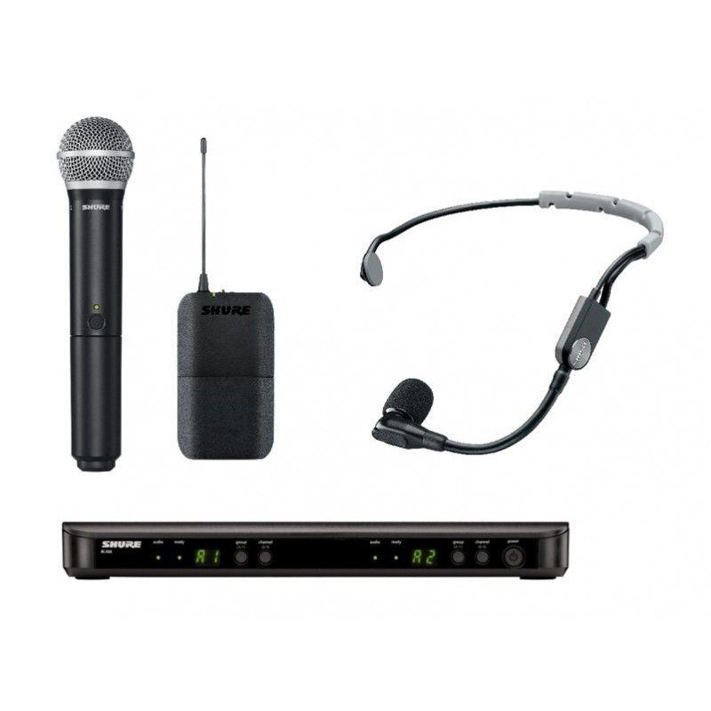 SHURE BLX1288/SM35 mikrofon bezprzewodowy podwójny