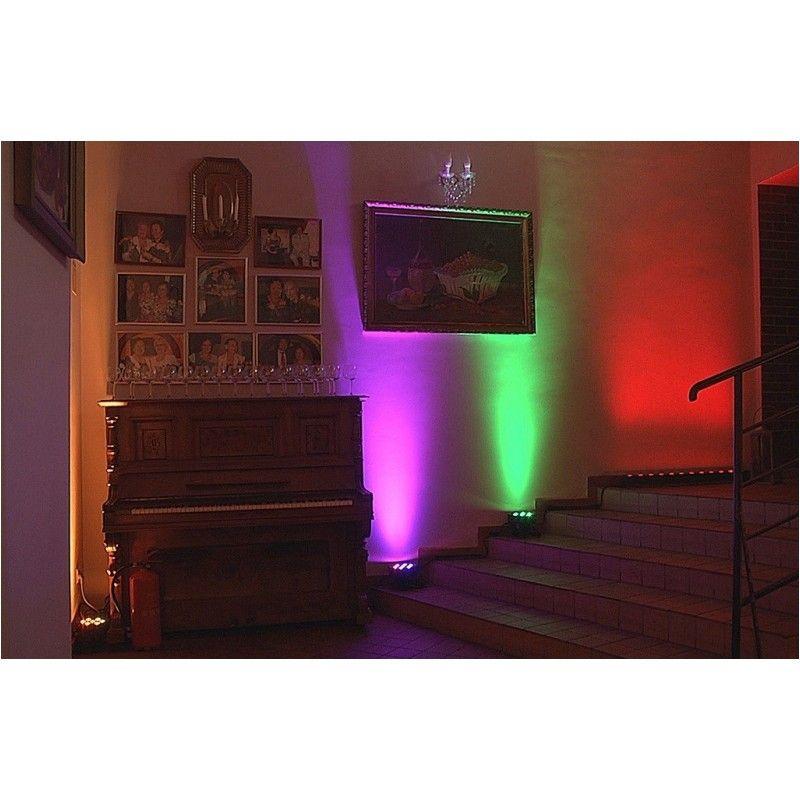 LIGHT4ME FLAT QUAD PAR 7x8W RGBW LED slim