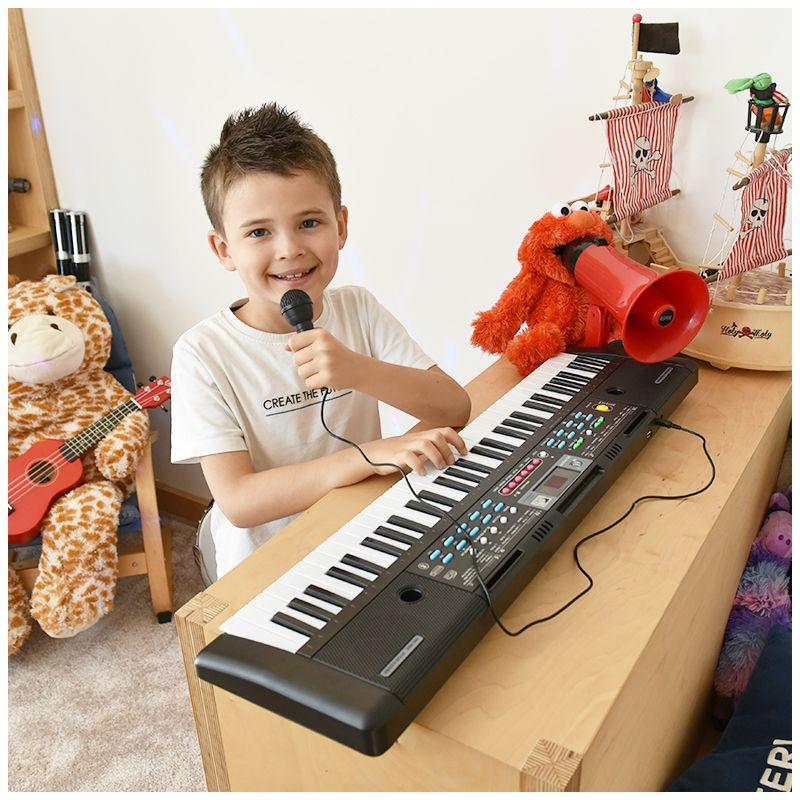 MQ 605 UFB KEYBOARD organy z mikrofonem dla dzieci