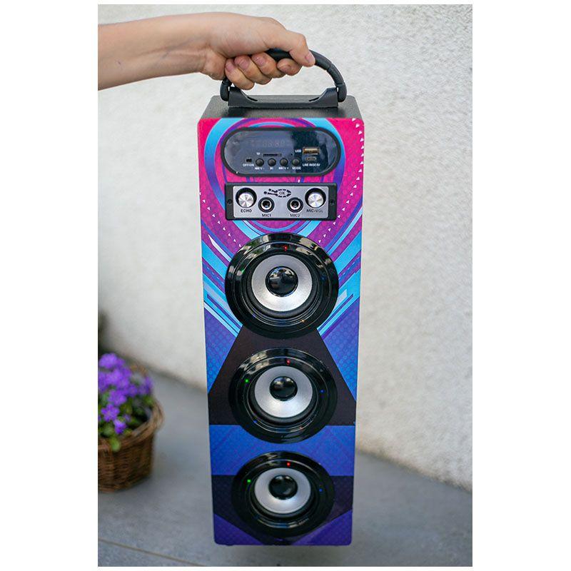 NN KBQ 608 V06 kolumna głośnik Bluetooth USB MP3 TF karaoke