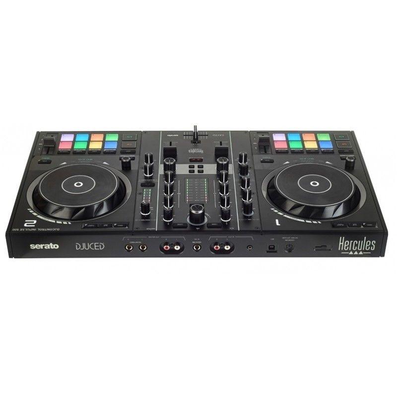 HERCULES DJ CONTROL INPULSE 500 kontroler SeratoDJ