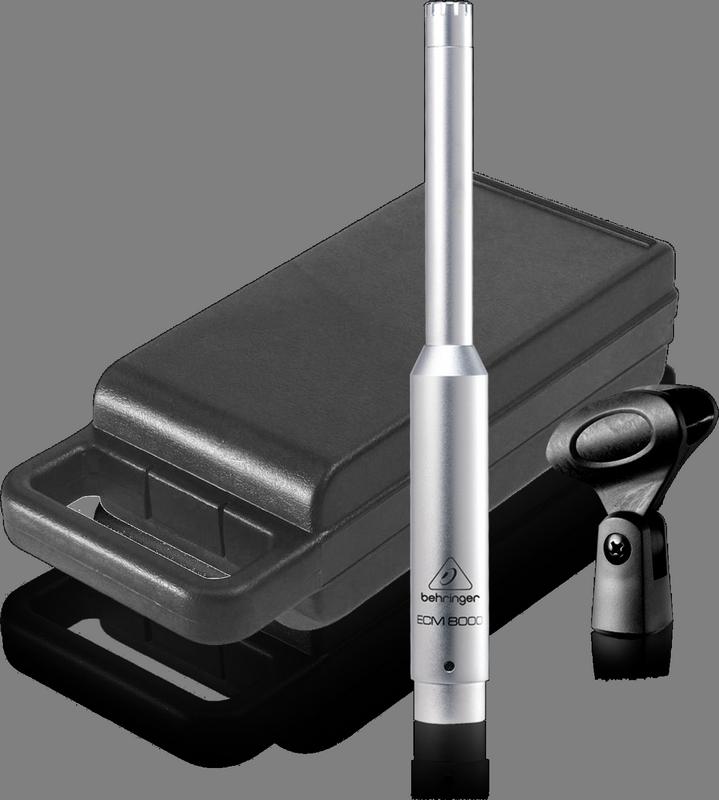 BEHRINGER ECM 8000 mikrofon pojemnościowy pomiar