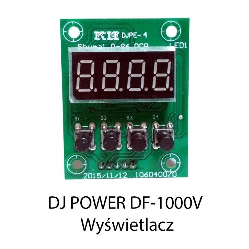 S. DJ POWER DF-1000V WYŚWIETLACZ