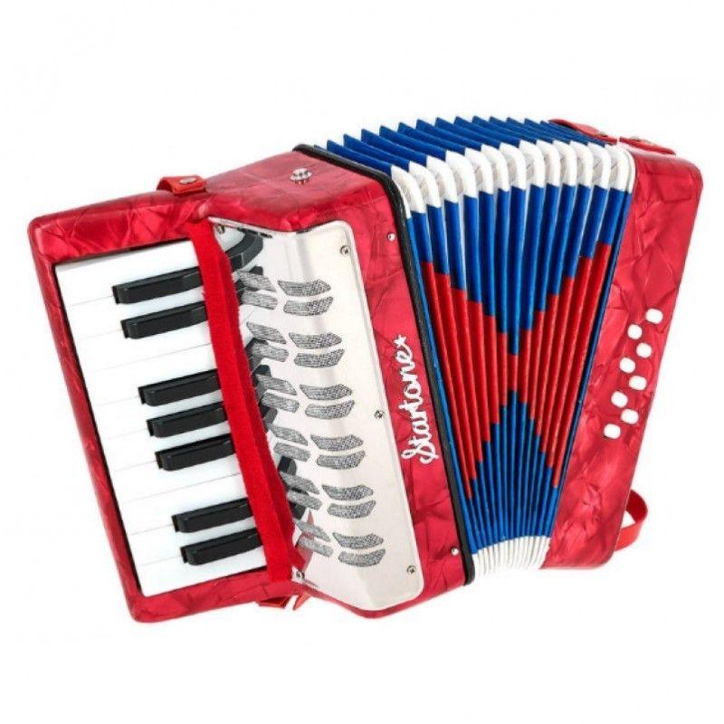 STARTONE HELENE KIDS RED akordeon dla dzieci