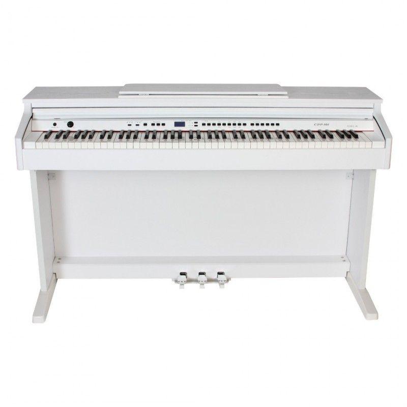 ORLA CDP-101 białe pianino cyfrowe do nauki