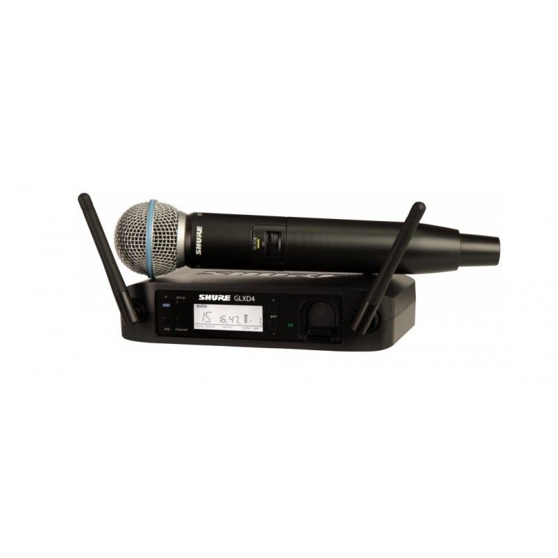 SHURE GLXD24/Beta58 cyfrowy mikrofon bezprzewodowy