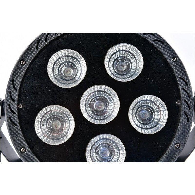 LIGHT4ME PAR COB 6x30W LED RGB wydajny Używany