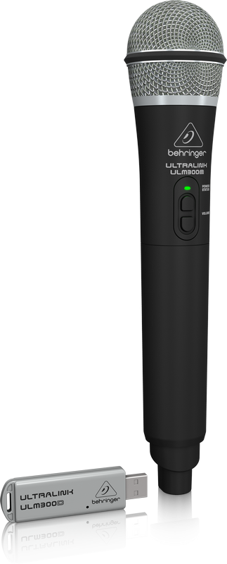 BEHRINGER ULM 300 USB mikrofon bezprzewodowy 2,4G