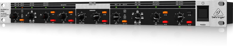 BEHRINGER CX 2310 V2 crossover 2 stereo 3 mono