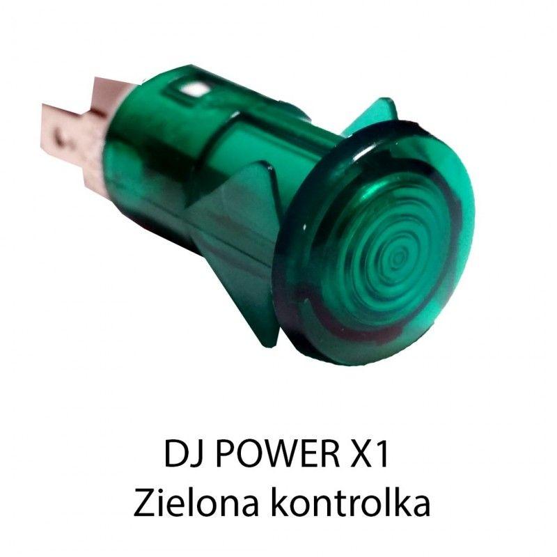 S. DJ POWER X-1 MINI KONTROLKA ZIELONA