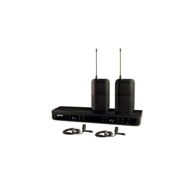 SHURE BLX188/CVL mikrofon bezprzewodowy krawatowy