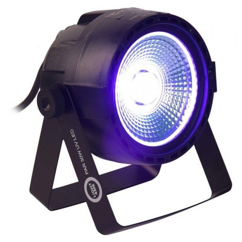 LIGHT4ME PAR 30W UV LED - reflektor ultrafioletowy