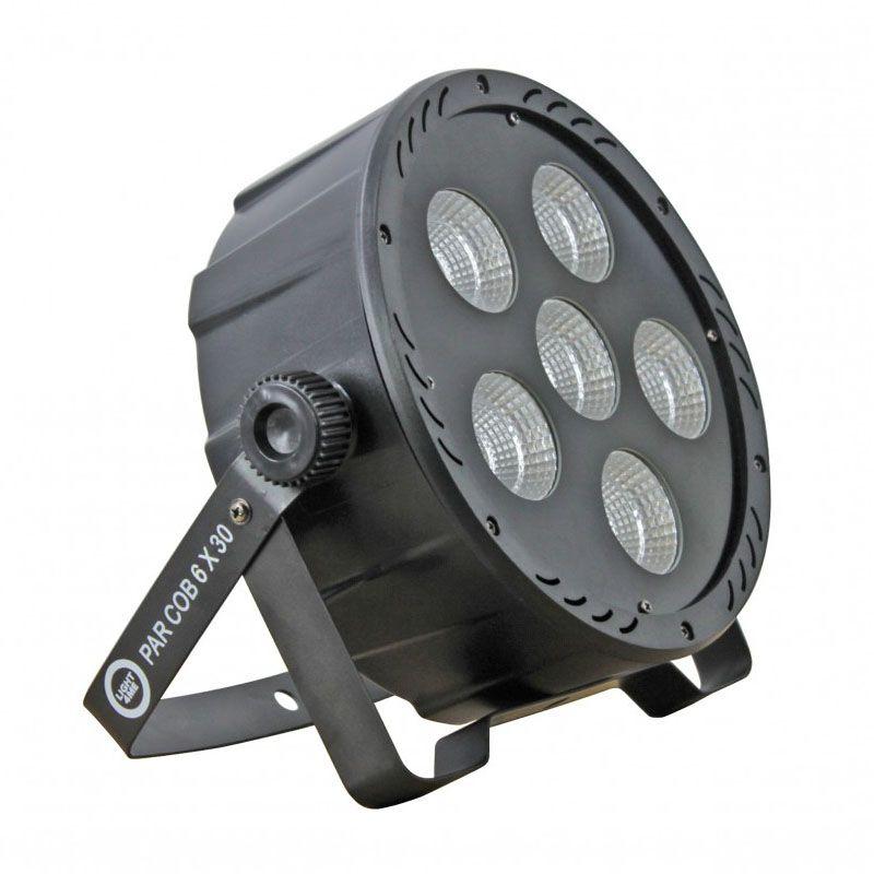 LIGHT4ME PAR COB 6x30W LED RGB mocny wydajny