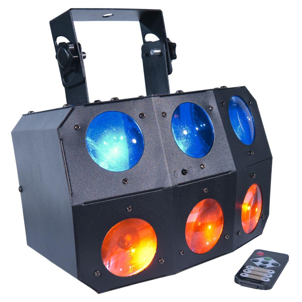 LIGHT4ME SIX EYE BEAM mocny efekt beam LED + PILOT