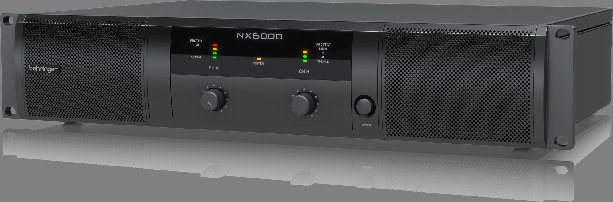 BEHRINGER NX6000 cyfrowy wzmacniacz mocy 6000W