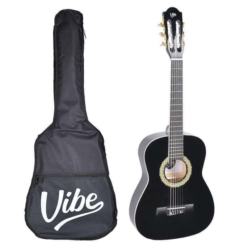 VIBE VC134 zestaw gitara klasyczna 3/4 z pokrowcem