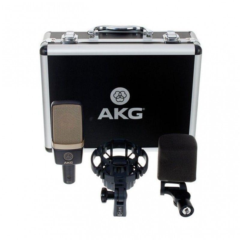 AKG C 314 profesjonalny mikrofon pojemnościowy