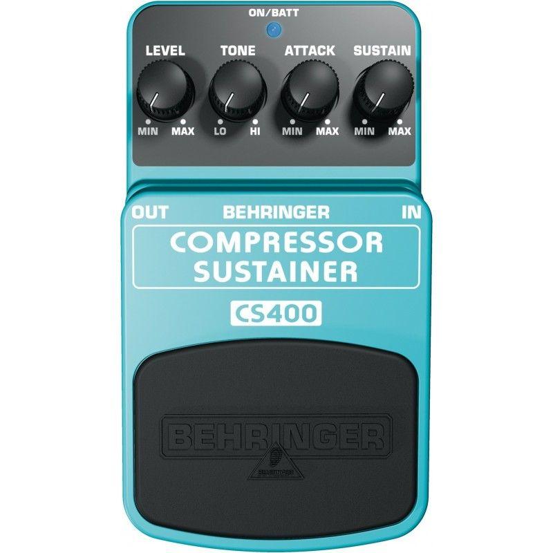 BEHRINGER CS 400 efekt gitarowy COMPRESSOR SUSTAIN