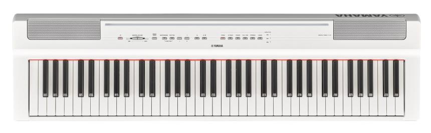 YAMAHA P 121 WH pianino cyfrowe do nauki gry