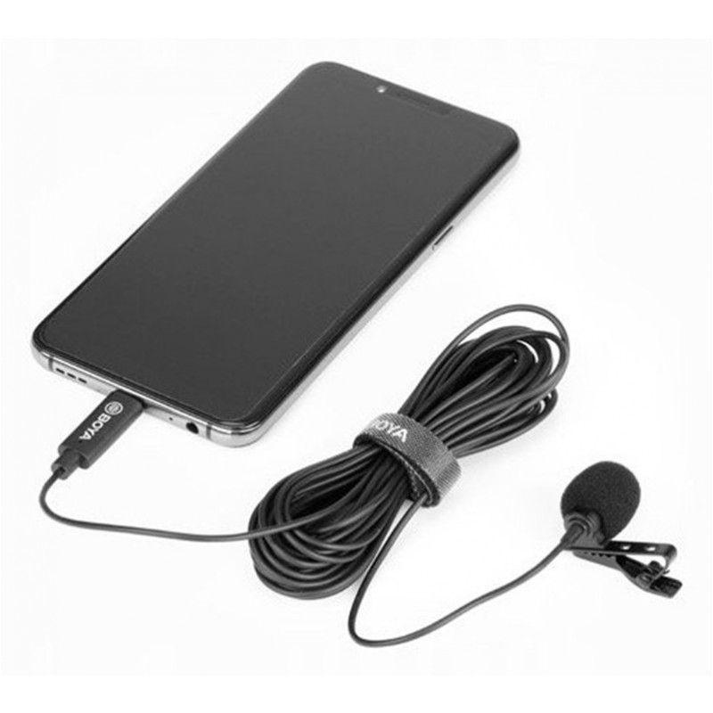 BOYA BY-M3 mikrofon krawatowy lavalier USB-C