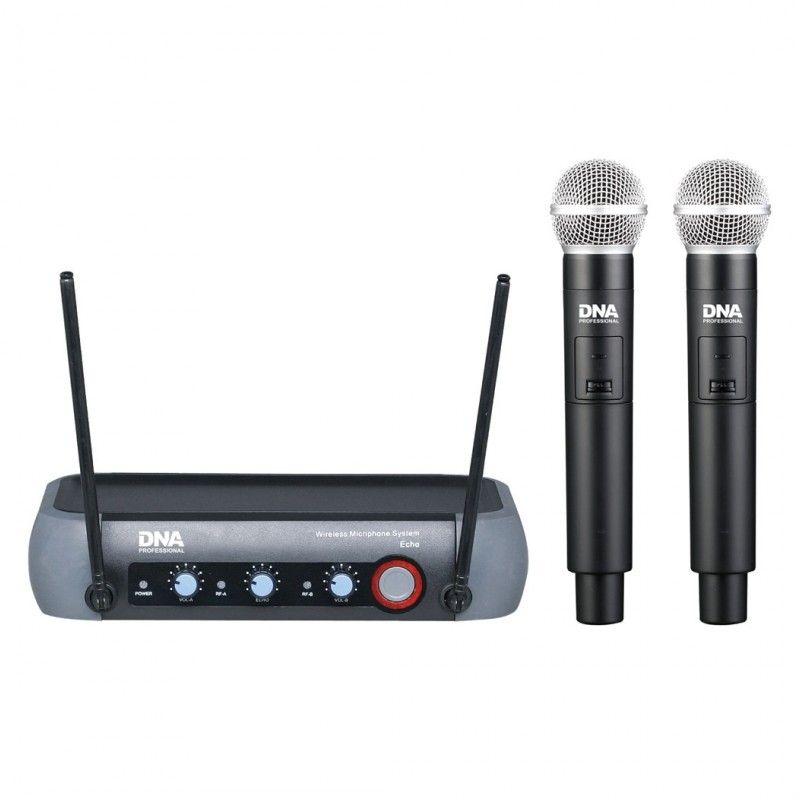 DNA FV DUAL VOCAL wokalowe mikrofony bezprzewodowe