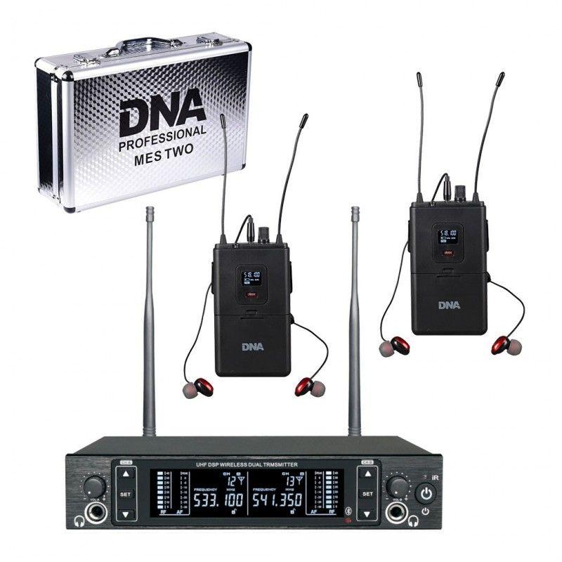 DNA IN-EAR DOUBLE douszny odsłuch bezprzewodowy