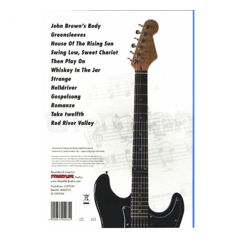 E-GITARRE podręcznik do nauki gry na gitarze el.
