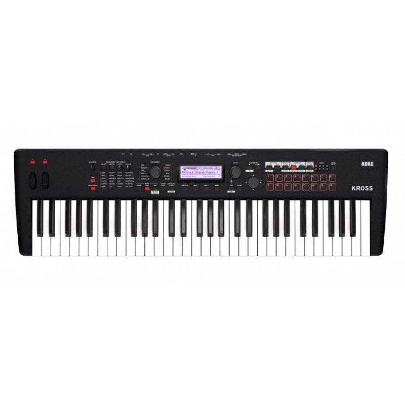 KORG KROSS 2 61 syntezator klawiatura sterująca stacja robocza audio workstation