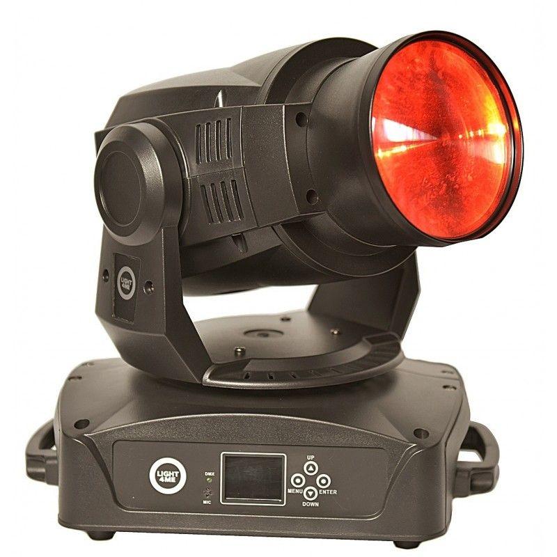 LIGHT4ME BEAM 90 LED głowa ruchoma 90W pryzma