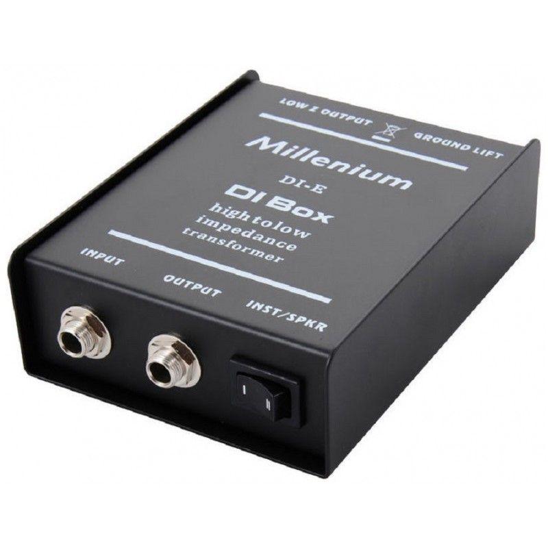 MILLENIUM DI-E di box pasywny 2x jack 6,3 mm - xlr
