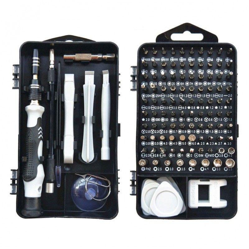 NN 115-1 WH zestaw narzędziowy śrubokręt + bity