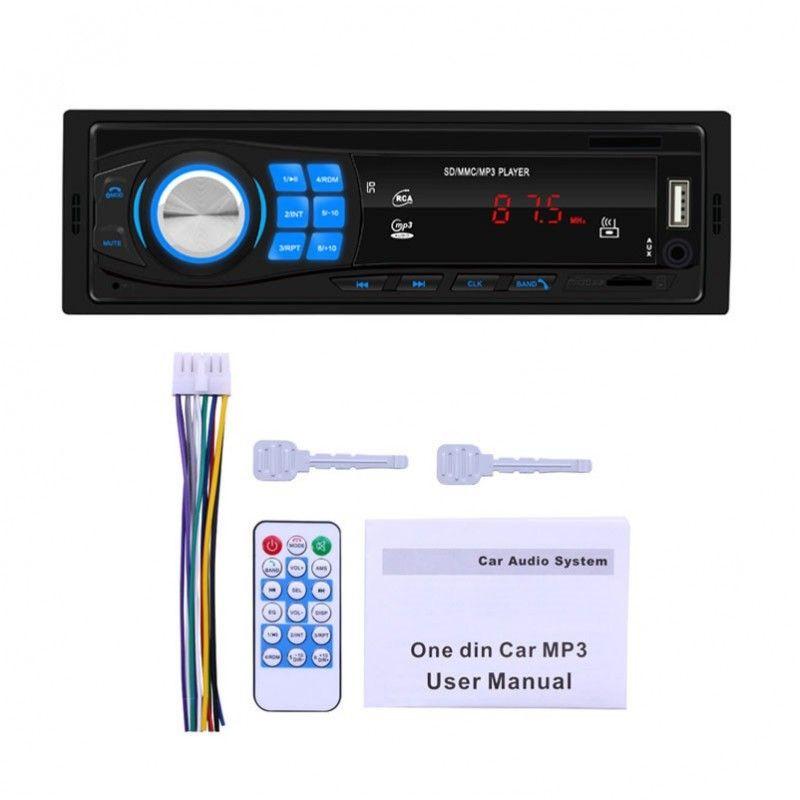 NN AUTO RADIO samochodowe Bluetooth USB TF RCA MP3
