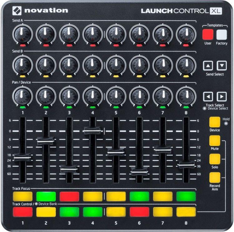 NOVATION LAUNCH CONTROL XL MKII KONTROLER+ ABLETON