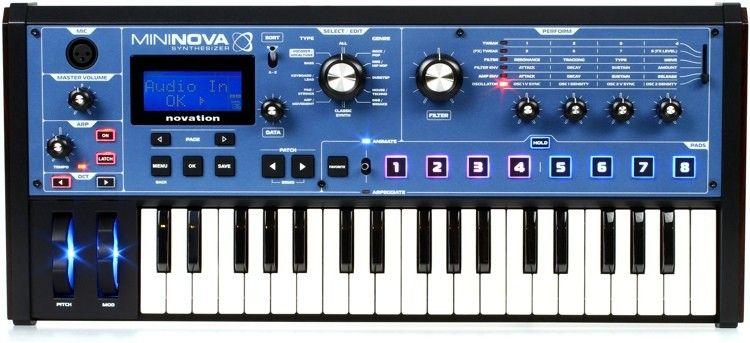 NOVATION MININOVA syntezator analogowy dźwięku