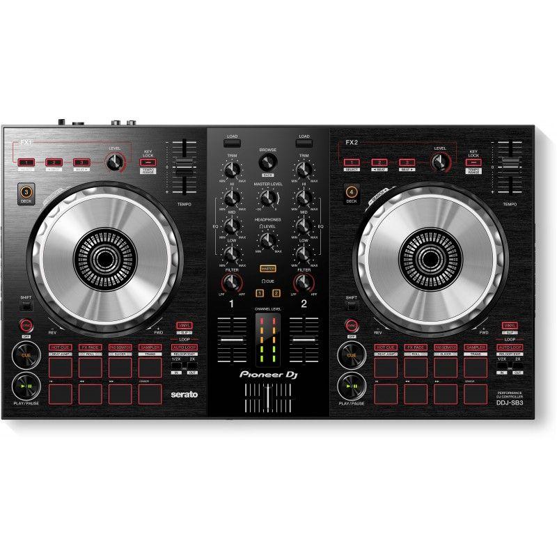 PIONEER DDJ SB 3 - kontroler DJ, konsola mikserska