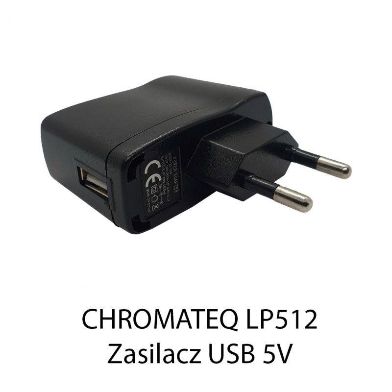 S. CHROMATEQ LP512 ZASILACZ USB 5V