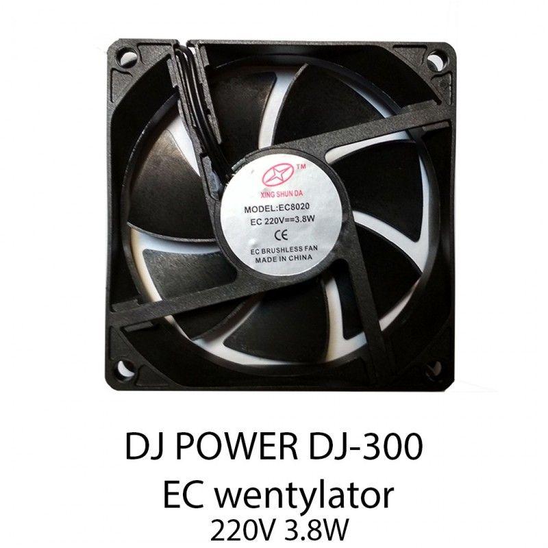 S. DJ POWER DJ-300 EC wentylator 80x80x20 mm 220V 3,8W