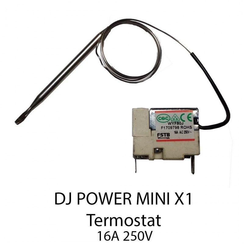 S. DJ POWER X-1 termostat