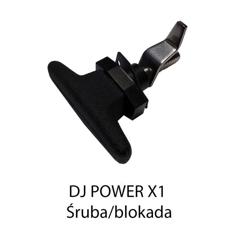 S. DJ POWER X-1 ŚRUBA / BLOKADA