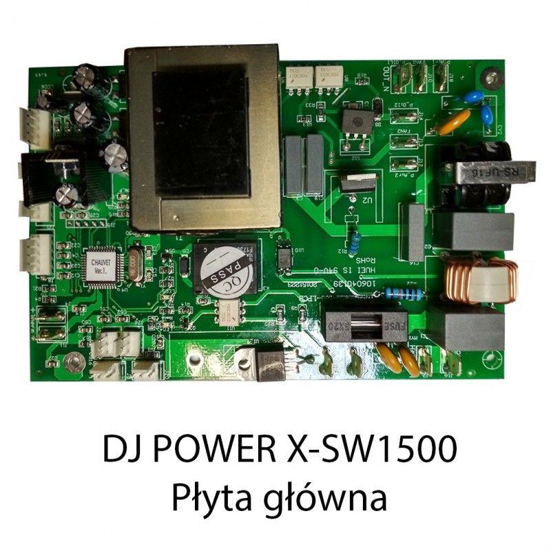 S. DJ POWER X-SW1500 PŁYTA GŁÓWNA