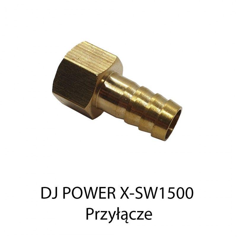 S. DJ POWER X-SW1500 PRZYŁĄCZE MOSIĘŻNE