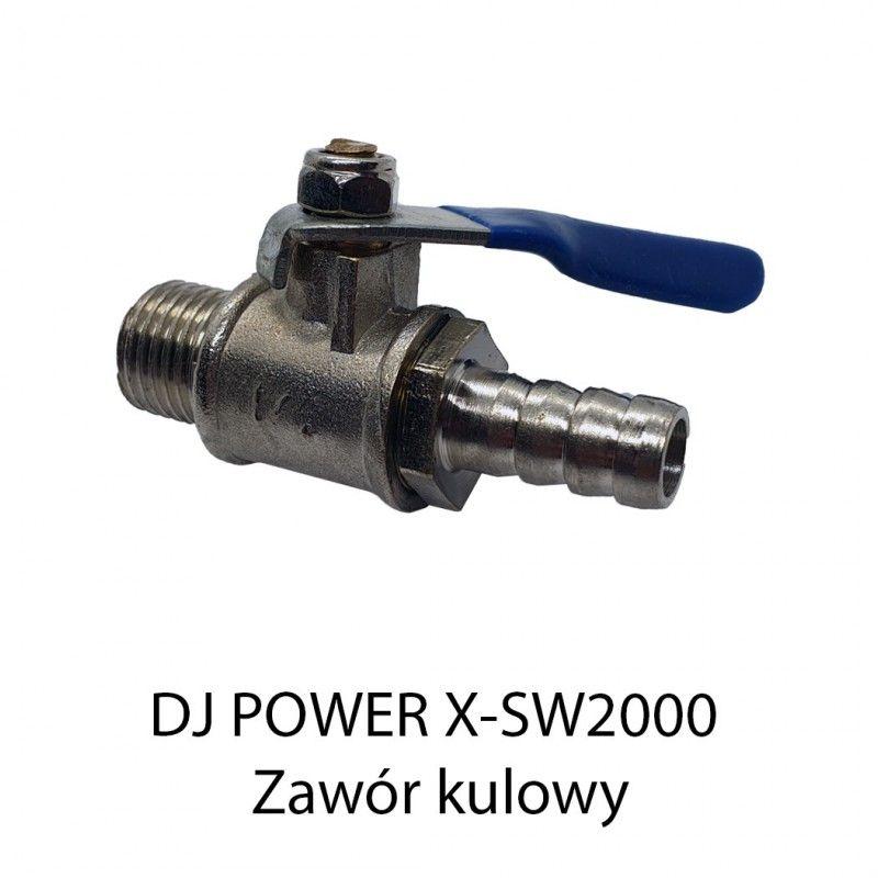 S. DJ POWER X-SW2000 ZAWÓR KULOWY