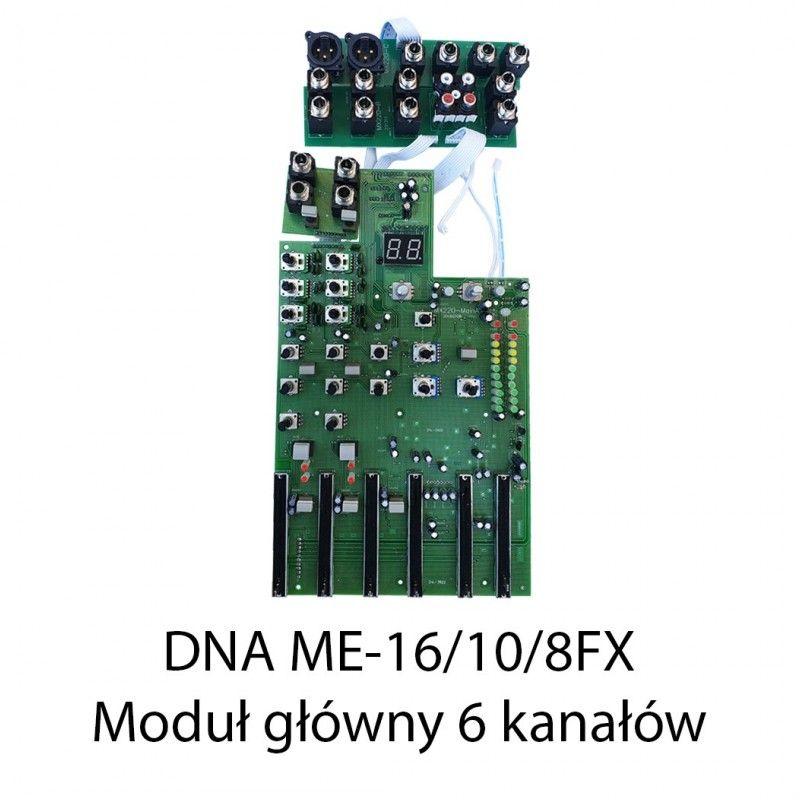 S. DNA ME-16/10/8FX MODUŁ GŁÓWNY 6 KANAŁÓW