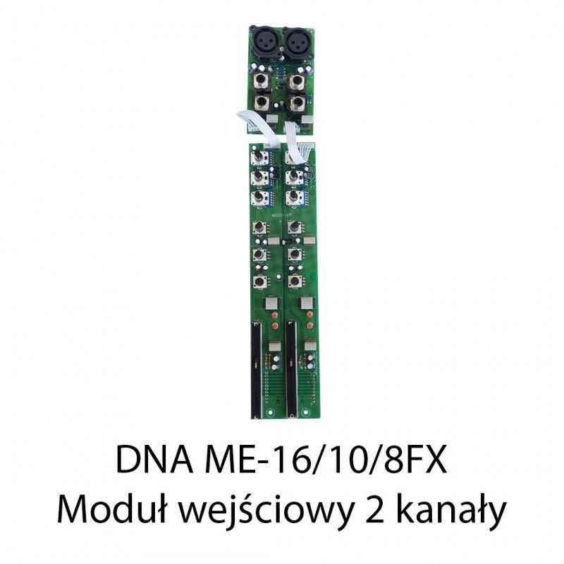 S. DNA ME-16/10/8FX MODUŁ WEJŚCIOWY 2 KANAŁY